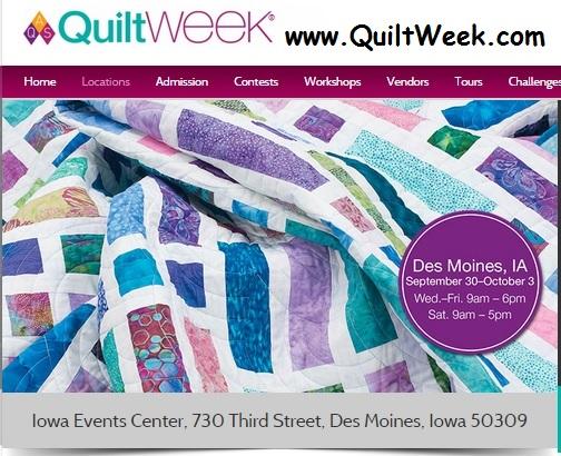 QuiltWeekDesMoines2015