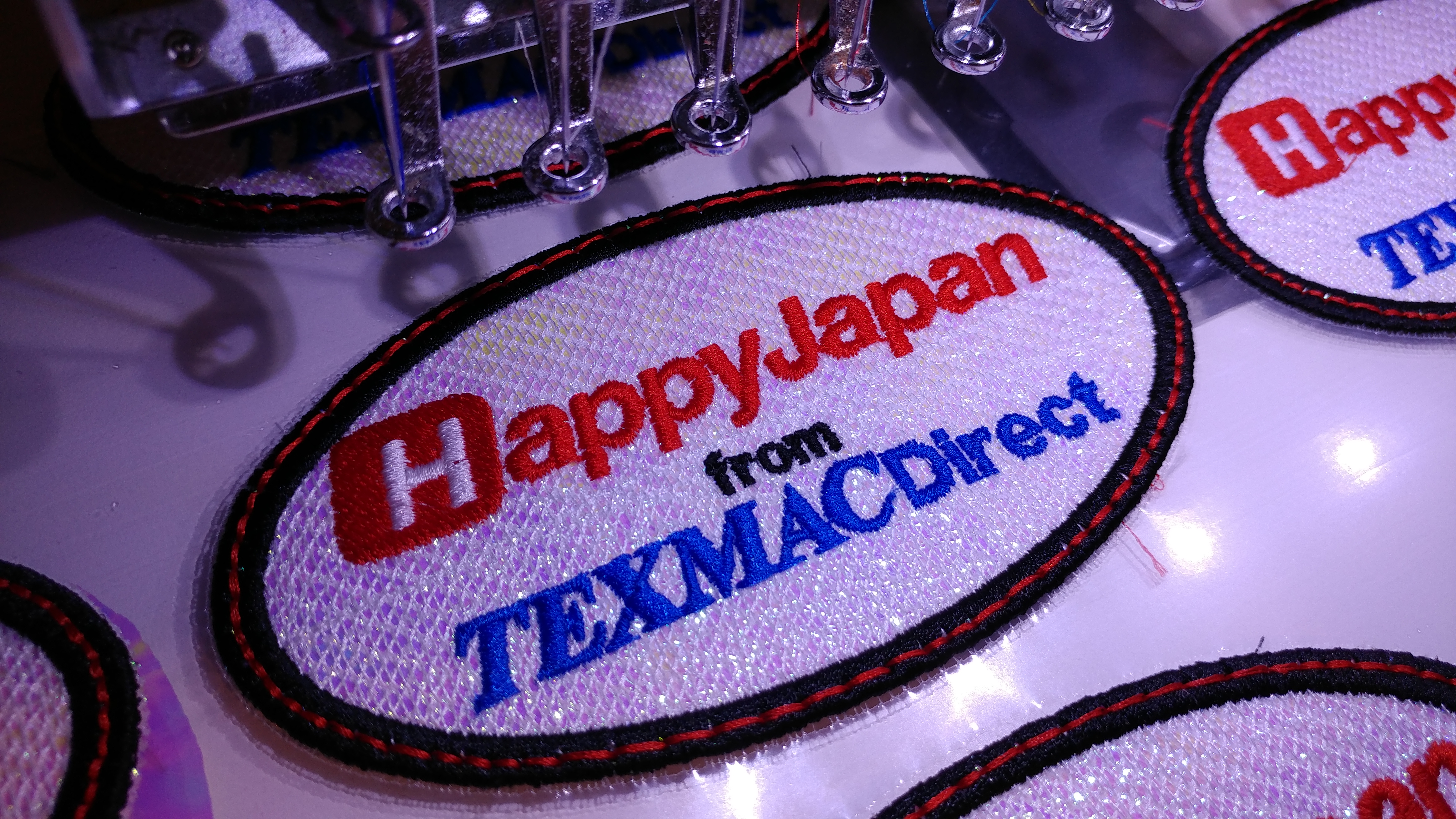 No Matter What State I'm In Lately, Everybody Wants To Know How To Do  Patches With Their Embroidery Machine It Was All The Talk At The Dax Show  In Kansas